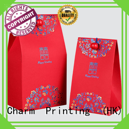 CharmPrinting favor boxes creative design for gift