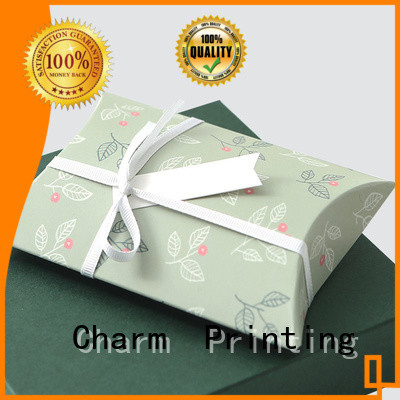 CharmPrinting high quality clothing packaging boxes for apparel
