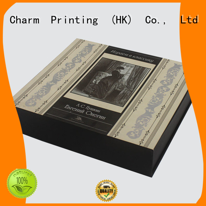 cosmetic box high quality gift package CharmPrinting