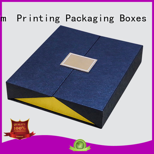 Charm Printing book shape type packaging boxes manufacturer for festival packaging