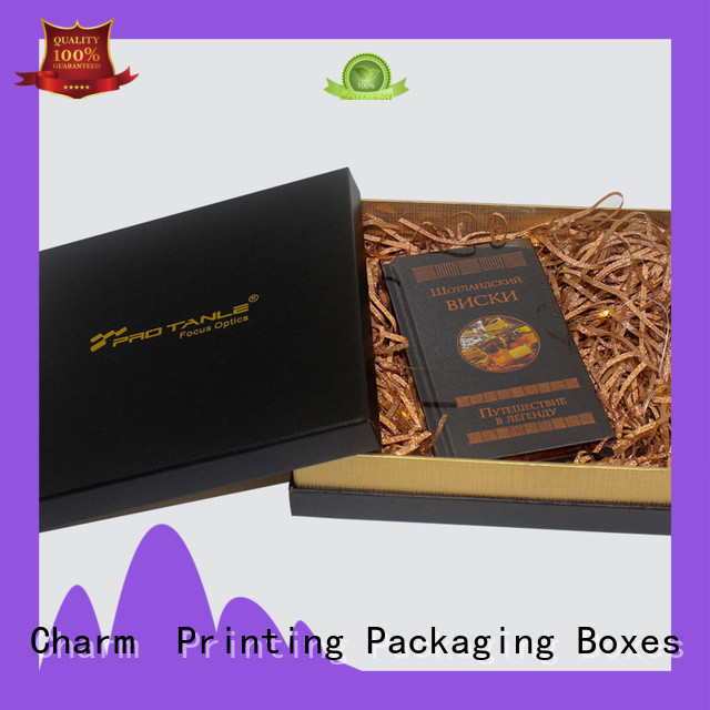 CharmPrinting custom packaging boxes OEM for gifts