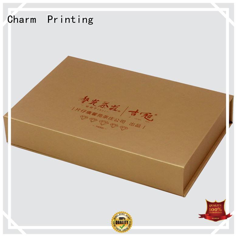 CharmPrinting with tray food packaging boxes factory price for gift