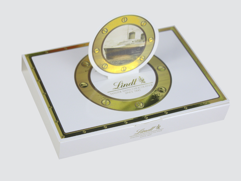 Charm Printing custom lid chocolate box automatic slide luxury box-2