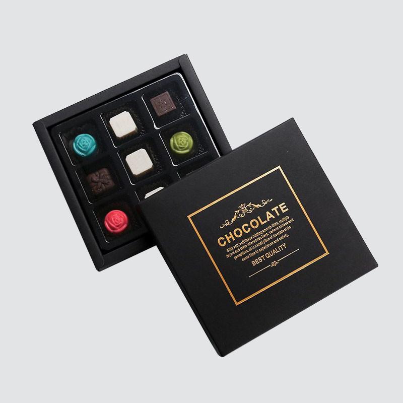 Custom Lid And Base Gift Box for Luxury Chocolate