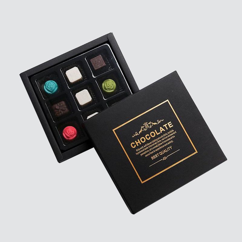 CharmPrinting chocolate box automatic slide gift box-1
