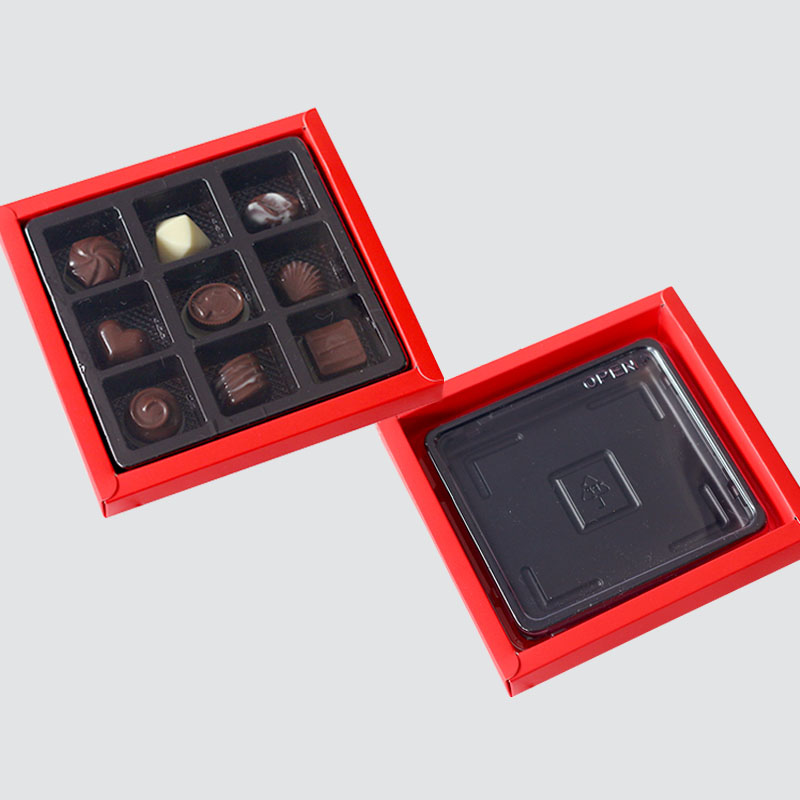 Charm Printing chocolate packaging automatic slide luxury box-2