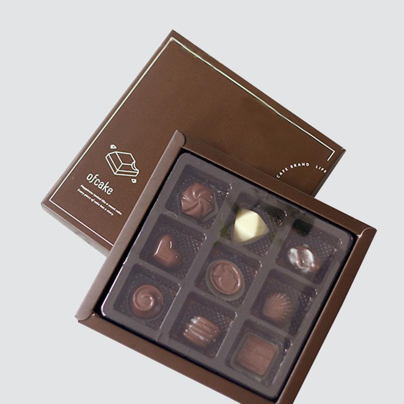 luxury chocolate box foil stamping luxury box-1