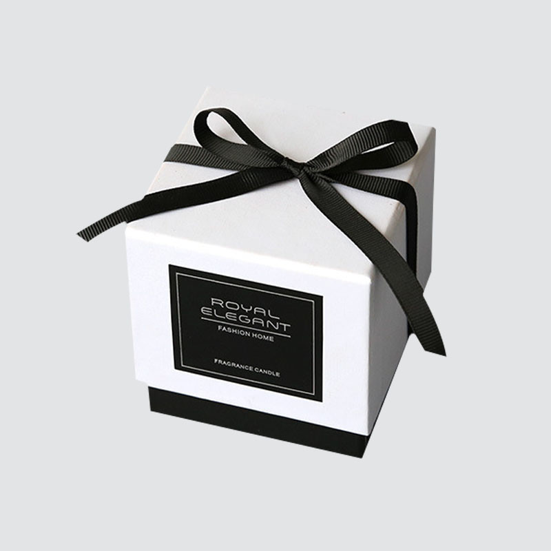 Custom Luxury  Lid And Base Gift Box for Candle