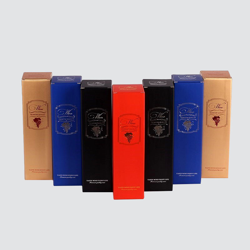 Custom Corrugated Wine Gift Packaging