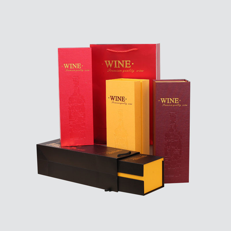 Charm Printing colorful card wine packaging box manufacturer wine packaging