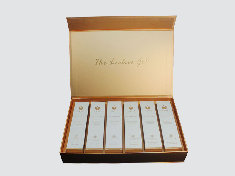 Charm Printing cosmetic box uv printing Gift Package