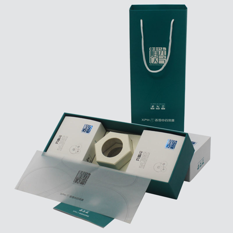Custom Lid and Base gift boxes for health care packaging products