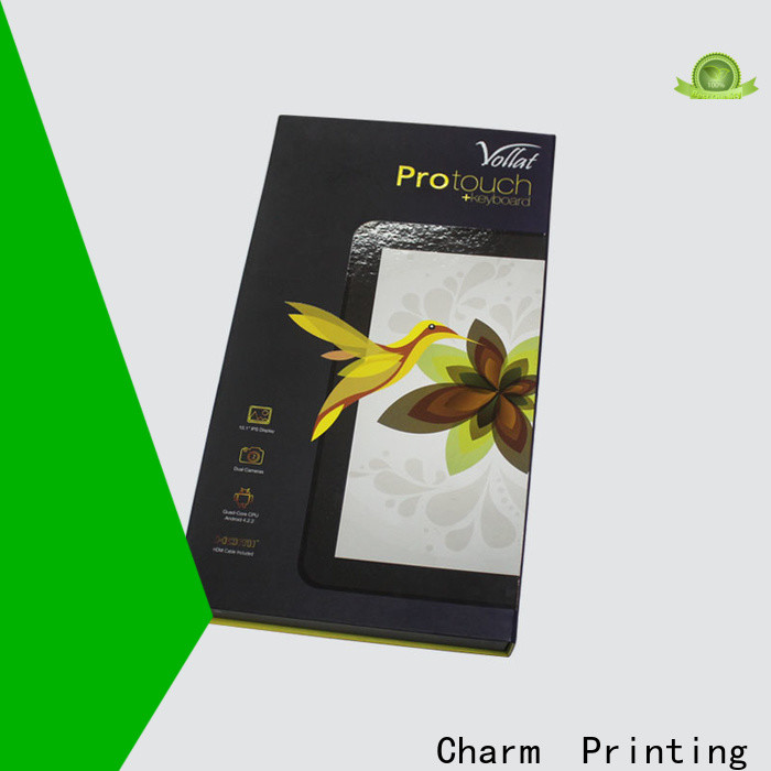 CharmPrinting with tray food packaging boxes factory price for food packaging