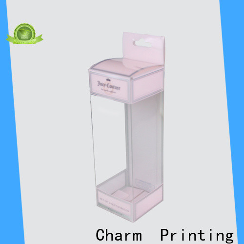 CharmPrinting customized cosmetic packaging uv printing storage