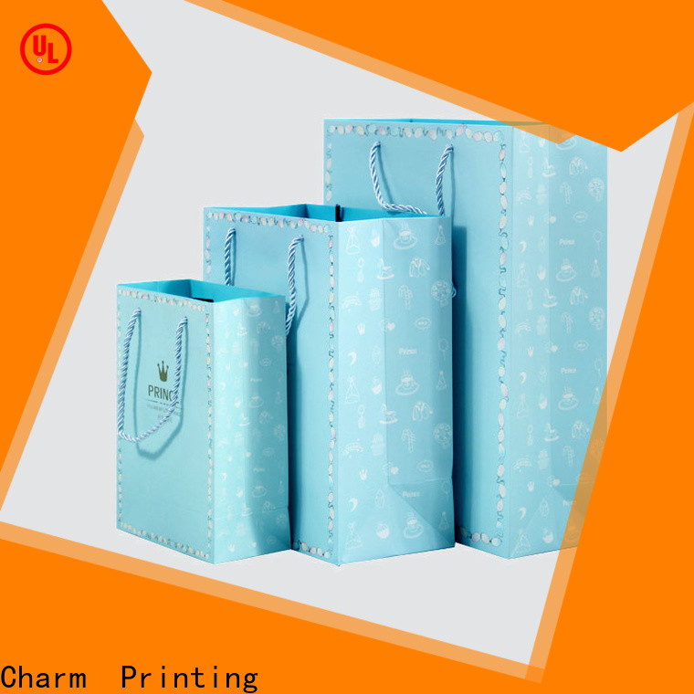Charm Printing paper shopping bags on-sale for paper bag