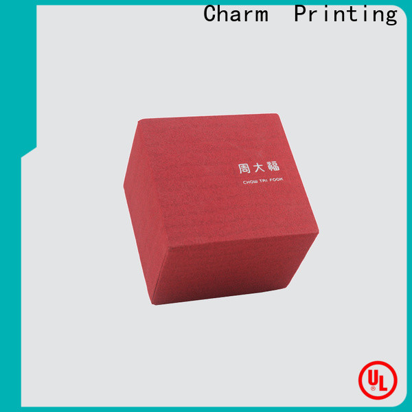 Charm Printing with tray jewelry gift boxes factory price for luxury box