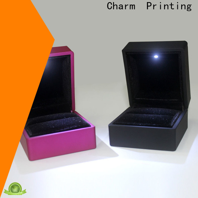 Charm Printing jewelry packaging luxury design for gift box