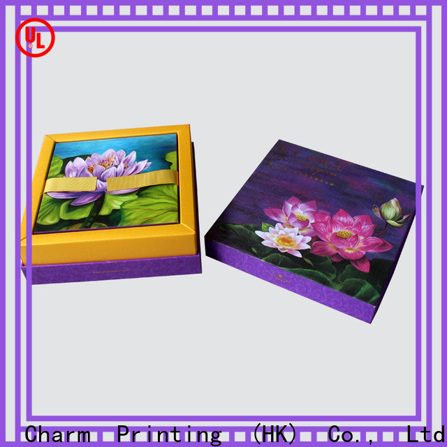 Charm Printing gift box high quality for food packaging