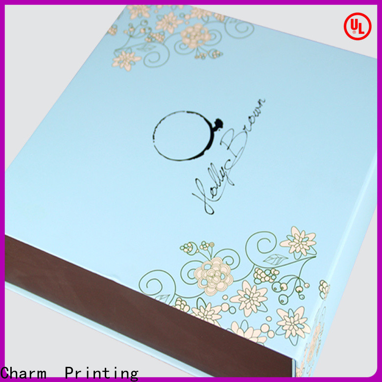 CharmPrinting custom food packaging boxes high quality for food box