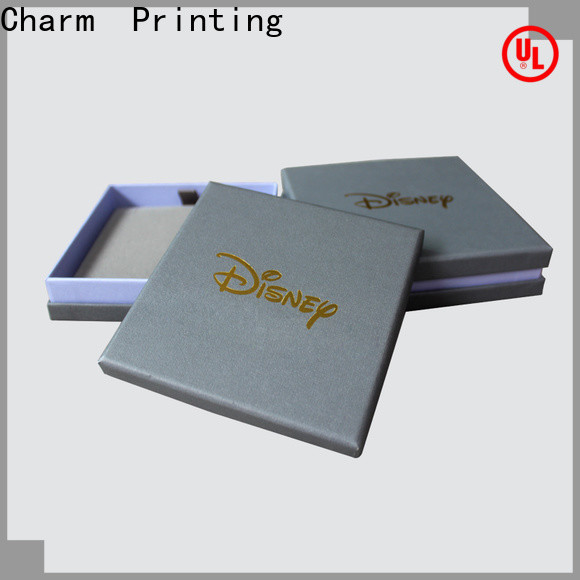 CharmPrinting jewelry gift boxes high-quality for jewelry packaging