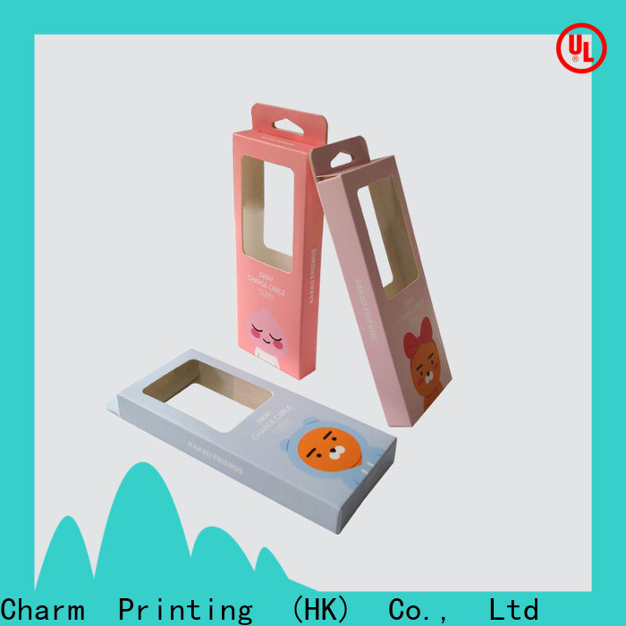 CharmPrinting professional design electronics packaging colorful for box packaging