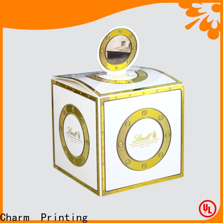 CharmPrinting custom favor boxes bulk production for gift
