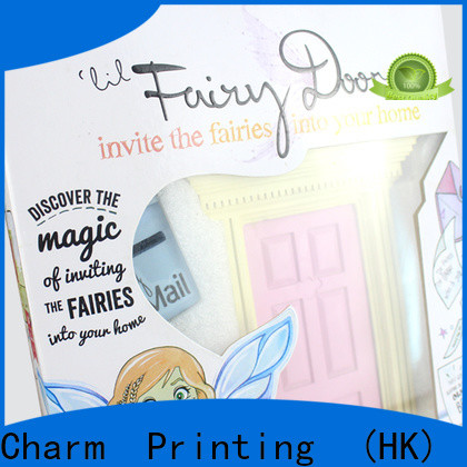 Charm Printing custom toy packaging get quote toys packaging