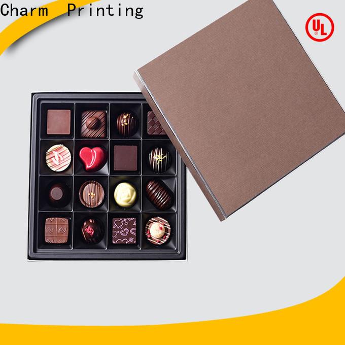 luxury chocolate box foil stamping luxury box
