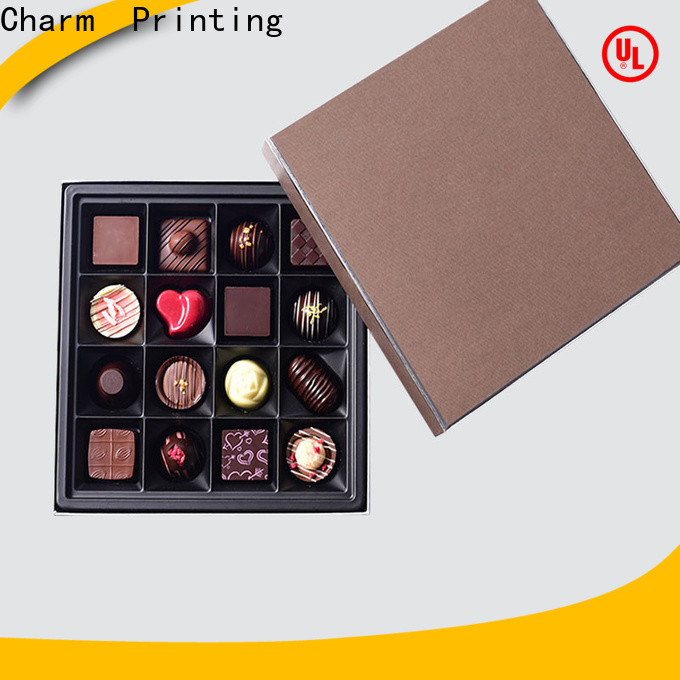 luxury chocolate box foil stamping luxury box