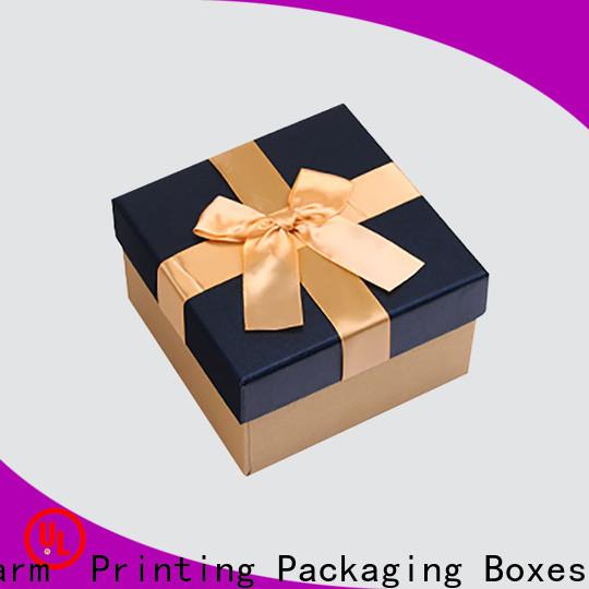 CharmPrinting silk printing candle gift box oem gift