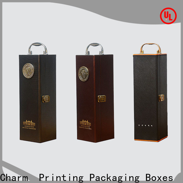 corrugated wine gift box luxury design alcohol packaging
