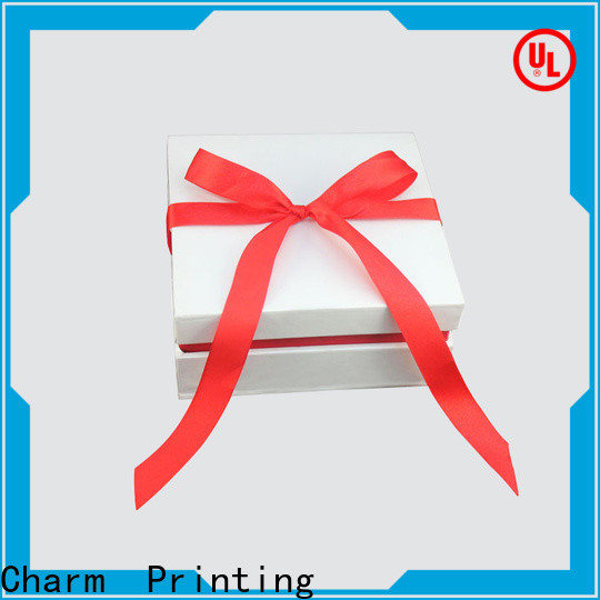 CharmPrinting drawer type perfume packaging box printing color for modern mowen