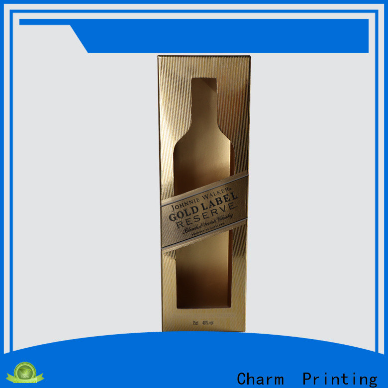 Charm Printing wine gift box manufacturer wine packaging