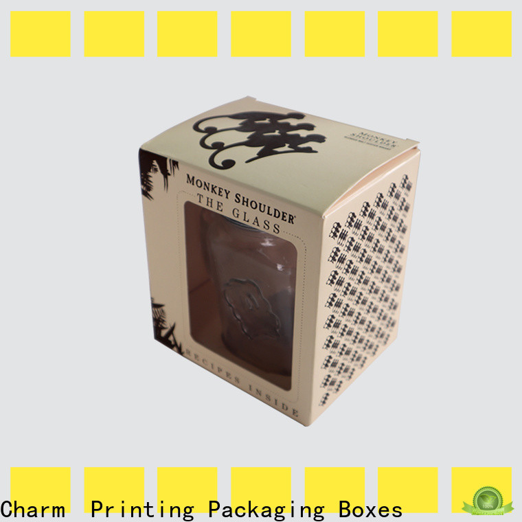 Charm Printing candle gift box good for gift for packaging