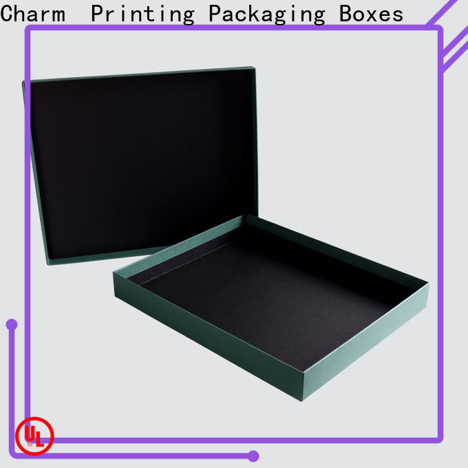 CharmPrinting high quality apparel packaging boxes special-shape box for clothes