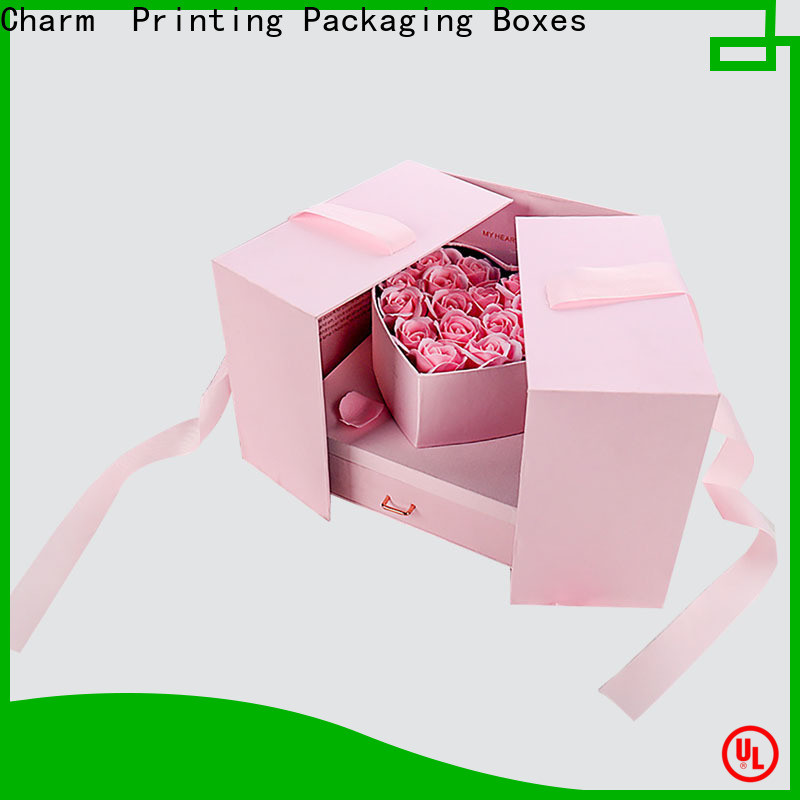 CharmPrinting magnet gift box packaging boxes manufacturer for festival packaging
