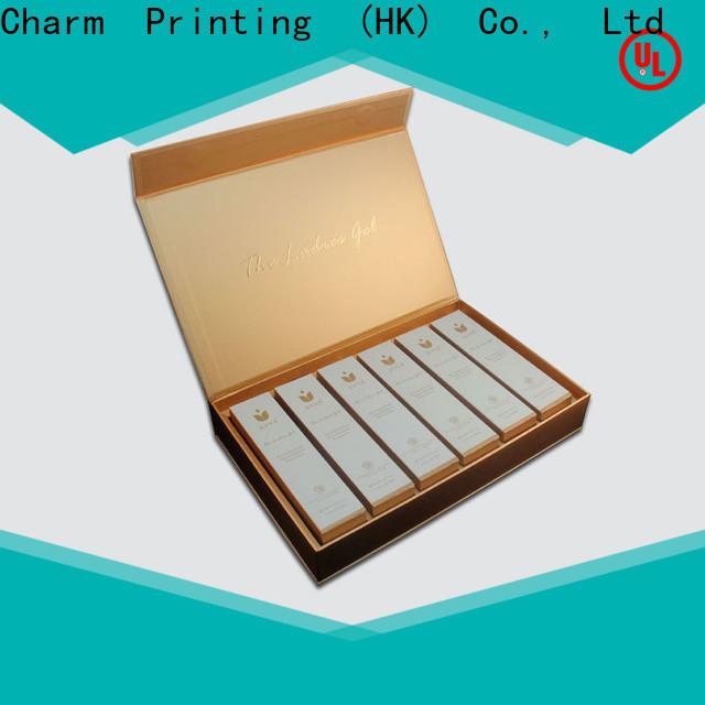 CharmPrinting cosmetic box offset printing shop promotion