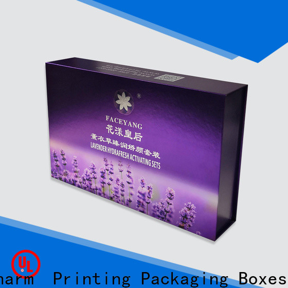 CharmPrinting cosmetic box high quality storage