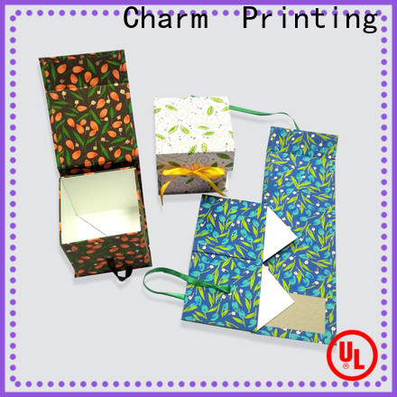 Charm Printing gift box OEM for gifts