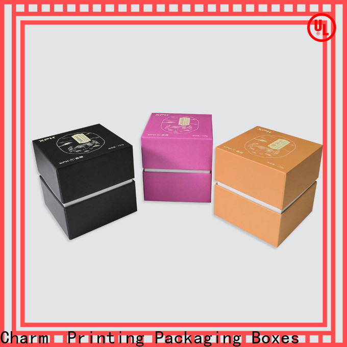CharmPrinting drawer type cardboard gift boxes dental products