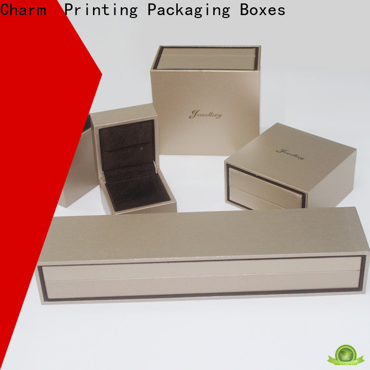 CharmPrinting with tray jewelry packaging box high-quality for luxury box