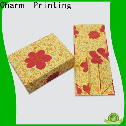 CharmPrinting custom magnet gift box OEM for festival packaging