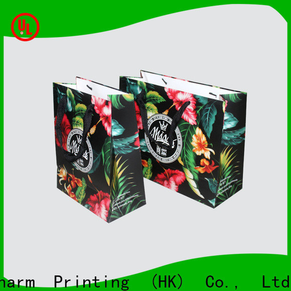 Charm Printing OEM paper bag on-sale for gift box
