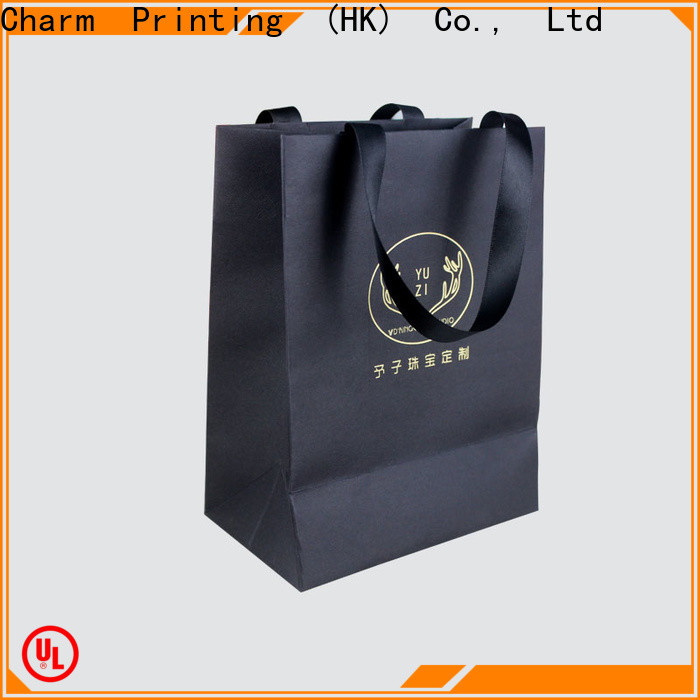 Charm Printing paper bag fashion design for gift box