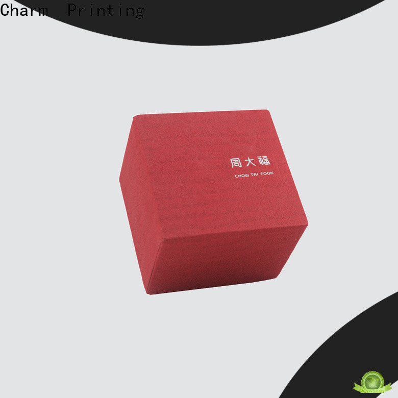Charm Printing custom jewelry packaging luxury design for gift box