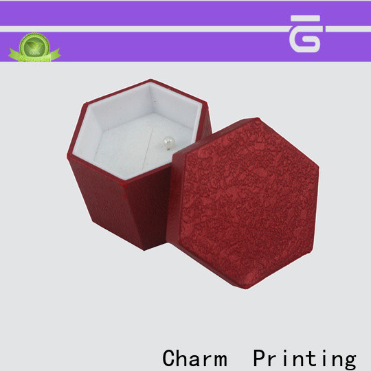 Charm Printing jewelry packaging box factory price for jewelry packaging