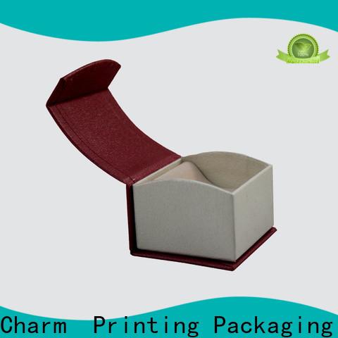 CharmPrinting custom jewelry box luxury design for gift box