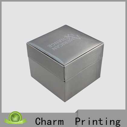 Charm Printing custom jewelry packaging luxury design for luxury box