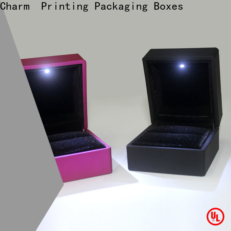 Charm Printing with tray jewelry gift boxes luxury design for gift box