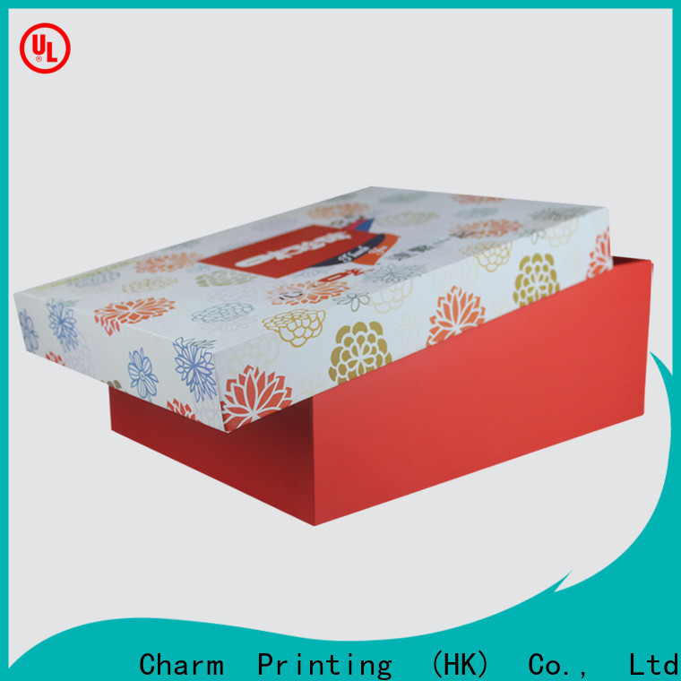 CharmPrinting special shape food packaging boxes factory price for food packaging
